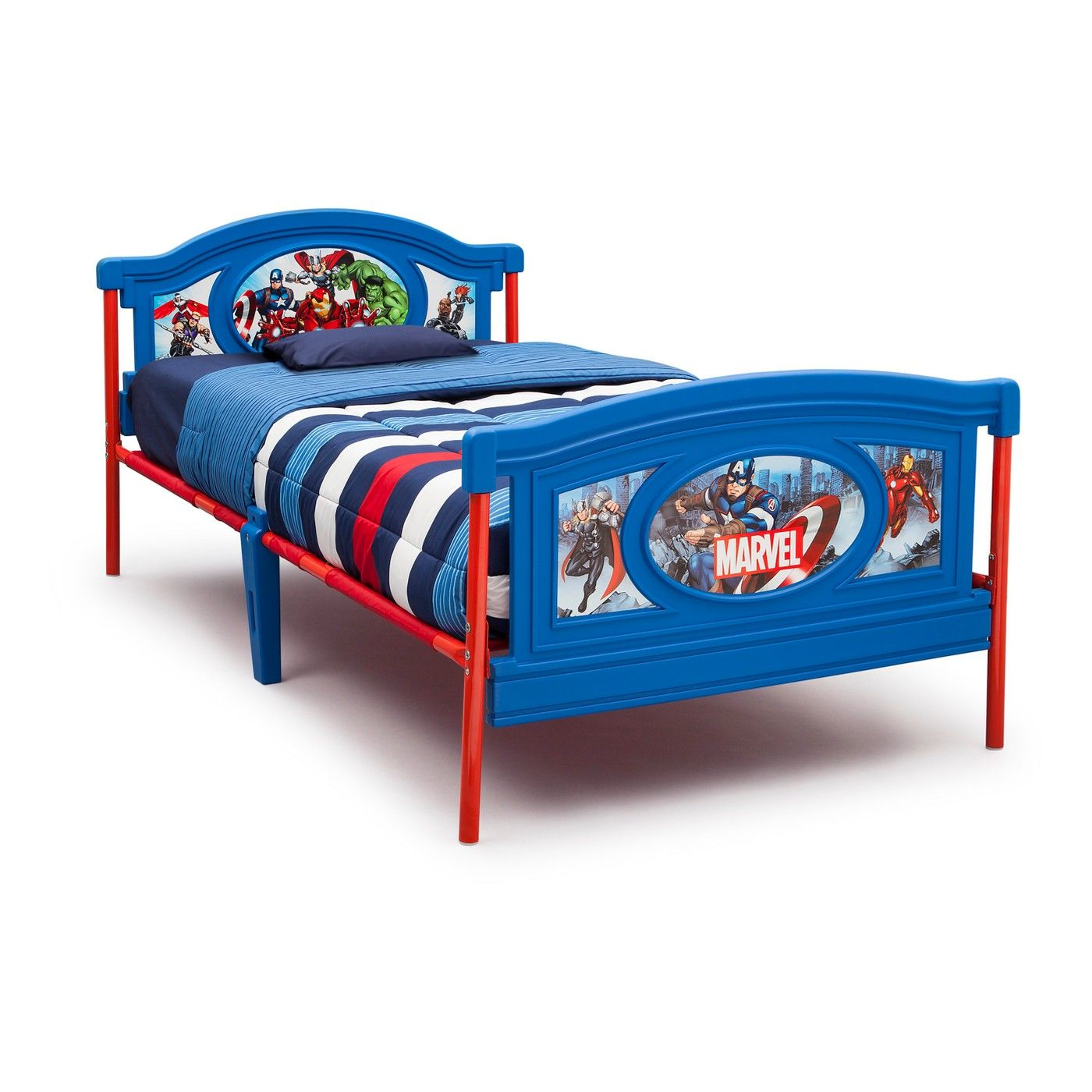 Marvel Avengers Twin Bed