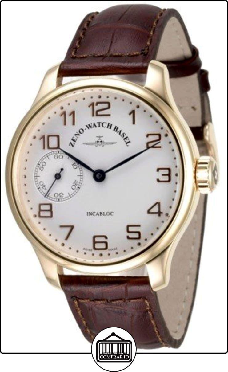 Zeno-Watch Reloj Mujer - OS Retro Winder gold plated - 8558-9-Pgr-f2 de  ✿ Relojes para hombre - (Lujo) ✿