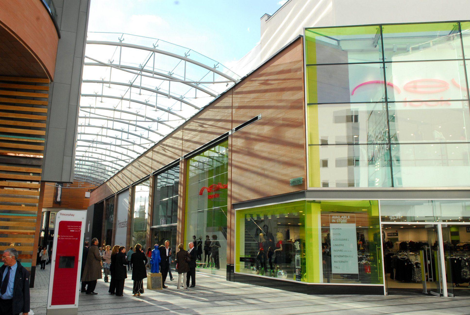 Princesshay shopping centre exeter devon uk c o for Ray s yamaha exeter pa