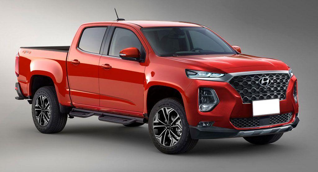 Hyundai's Rugged Pickup Truck Could Use GV80's Straight
