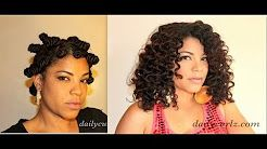 dailycurlz knot - YouTube