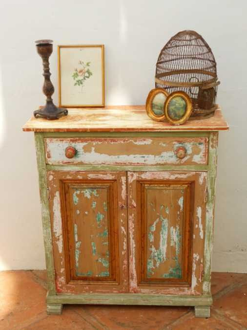 Mueble decapado vintage julia pinturas decoracion decoraci n pinterest muebles muebles - Decapar muebles antiguos ...