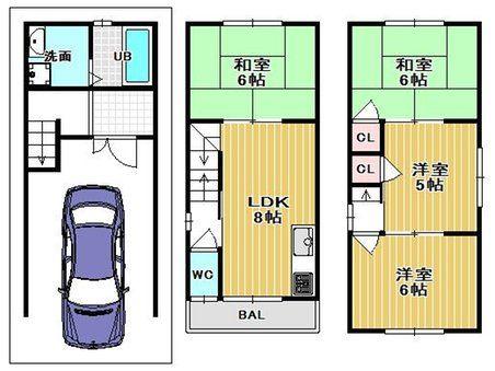 森河内西1(放出駅) 1280万円