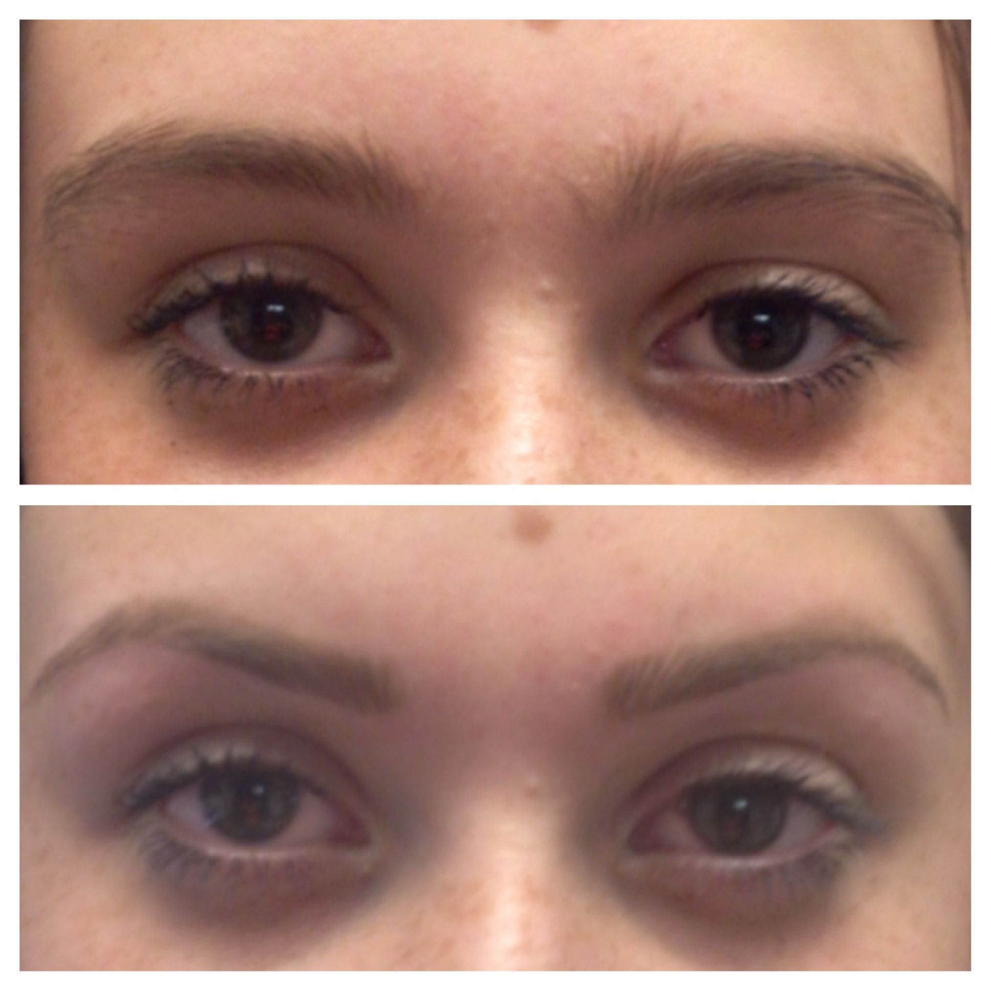 Another Bbt This Tbl Clients Eyebrows Are Naturally Straight
