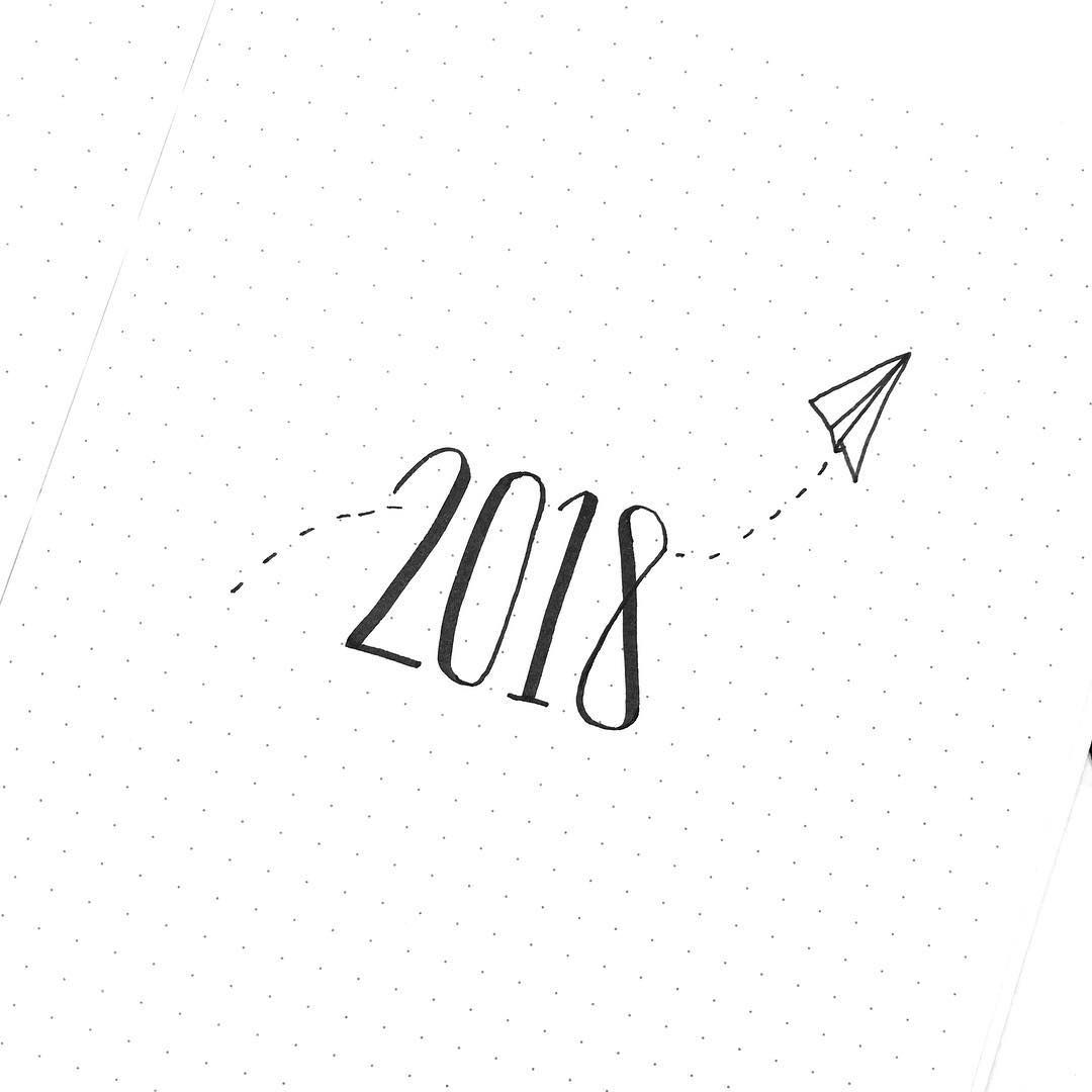 Bullet Journal Yearly Cover Page Paper Plane Drawing Minimalist Bullet Journal Yearly Cover Page B Bullet Journal Paper Paper Plane Bullet Journal Yearly