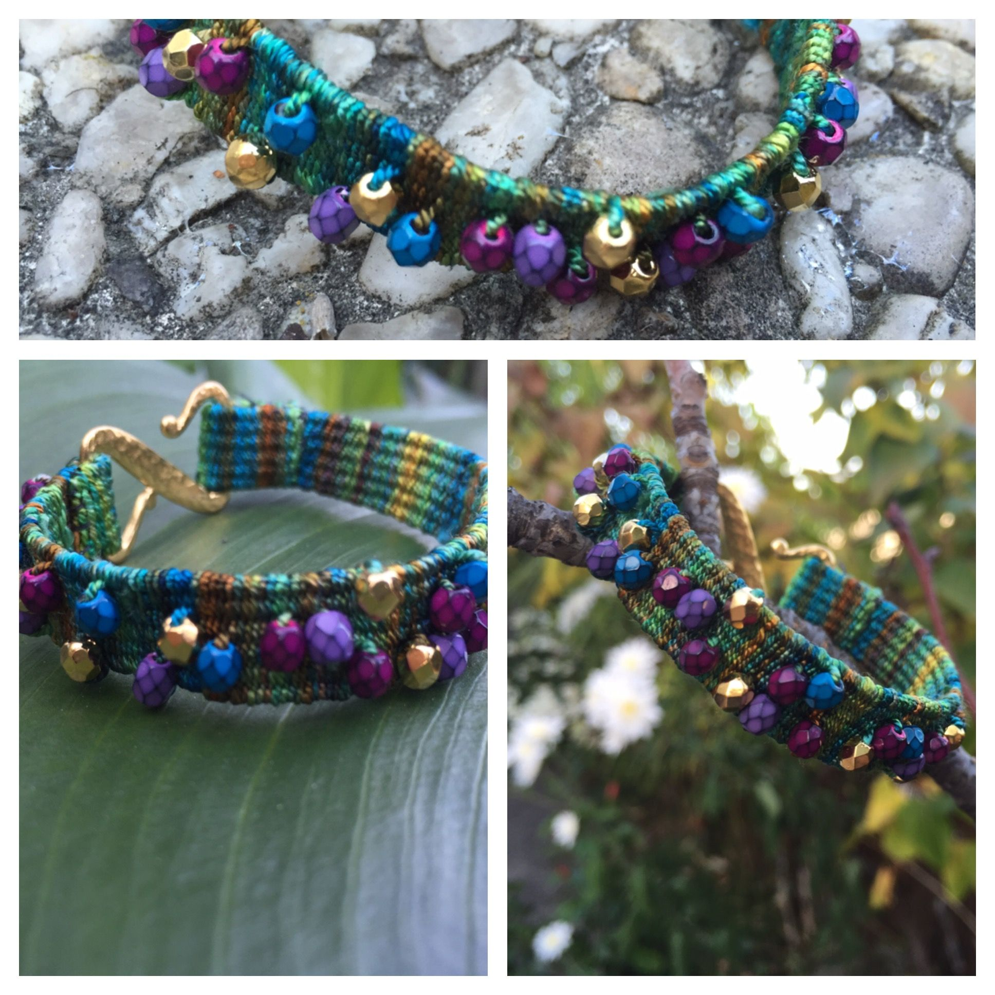 You can now get our 20th weave-along project for free as an ebook! Called the Bauble Bracelet, this project is perfect for beginners.