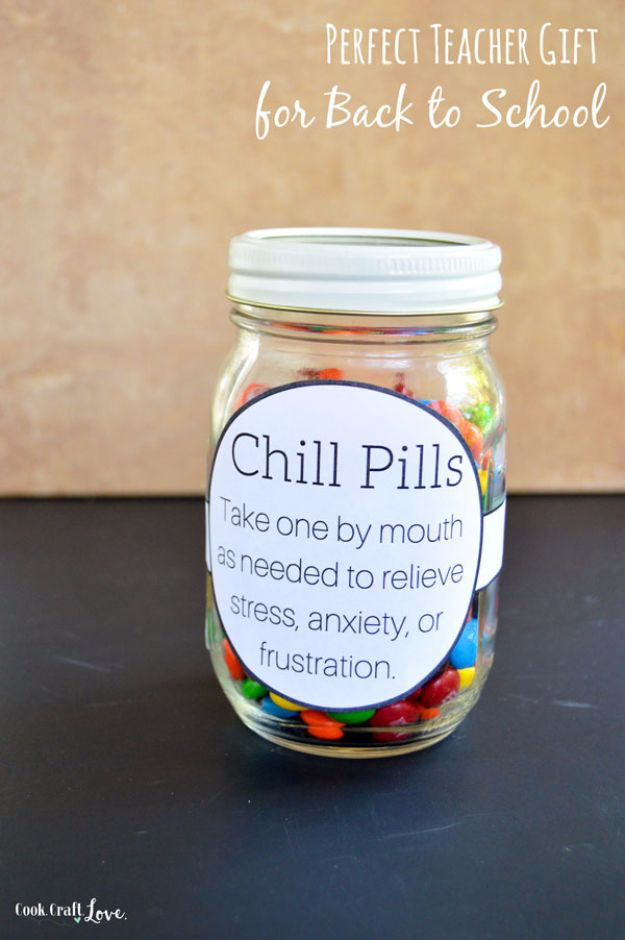 DIY Chill Pill Teacher Gift - here is where you can find that Perfect Gift for Friends and Family Members : unique teacher gift ideas - medton.org