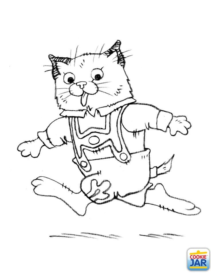 richard scarry halloween coloring pages - photo#3