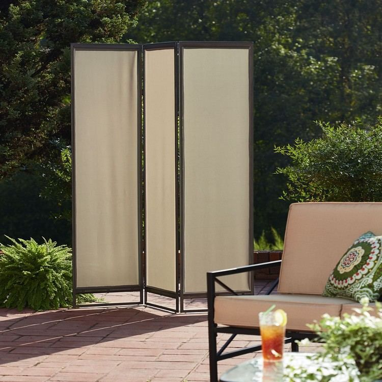 Beautiful Paravent f r Garten Terrasse oder Patio dient als Wind Sonnen und Sichtschutz