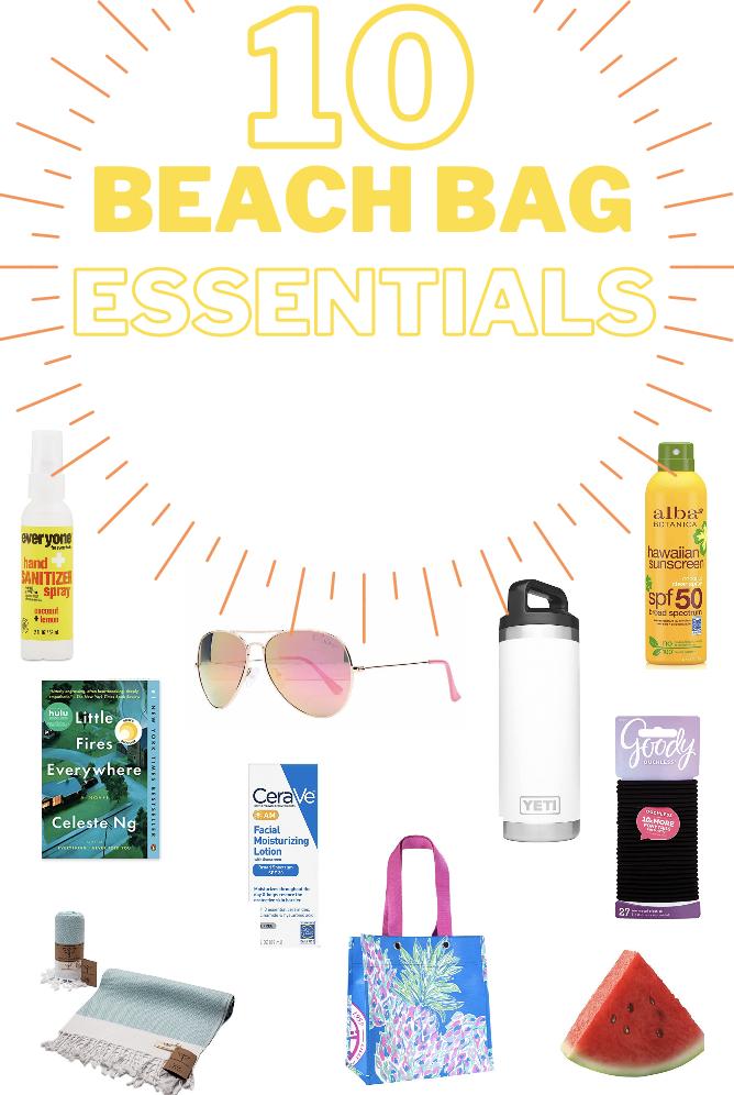 #beach #packing #list #beachpackinglist #beachdayessentials #dayatbeach #day #essentials#beachbagessentials #beachbag #beachphotography #photography #yeti #yeticup #sunscreen #littlefireseverywhere #hair #elastics #lillypulitzer #handsanitizer #sunglasses #beachtowel #towel #beachsnacks #snacks