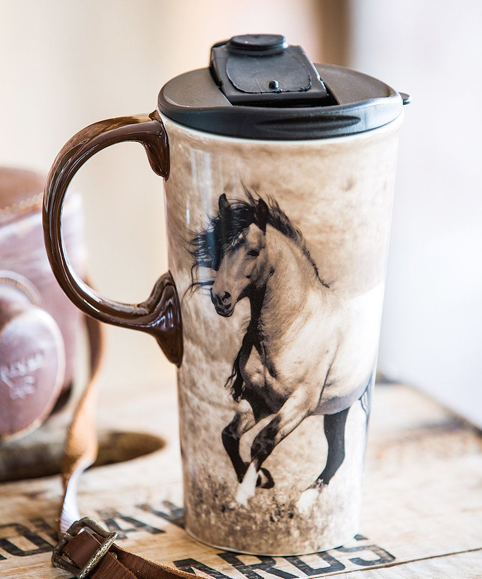 Take a look at this Wild Chestnut 17Oz. Ceramic Travel