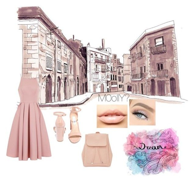 """""""🖖🏻💧"""" by a56x ❤ liked on Polyvore featuring Chi Chi, Steve Madden, New Look and MDMflow"""