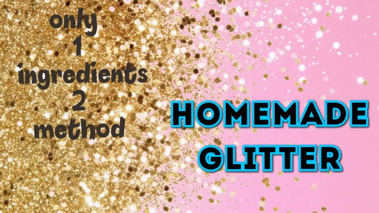 How To Make Glitter At Home Diy Glitter Sand Homemade Glitter Coloured Sand Substitute Youtube In 2021 Homemade Glitter How To Make Glitter Glitter Diy