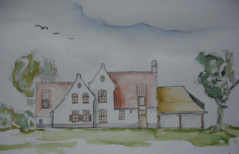 Farm aarsele glenn reynaert huis plannen huizen