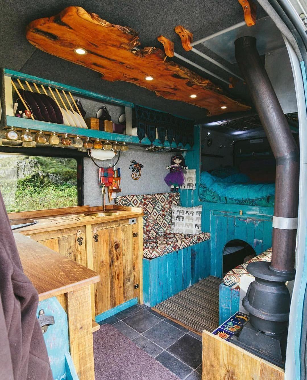Bus Conversion Ideas 3 - camperism | Buses | Van interior, Van life