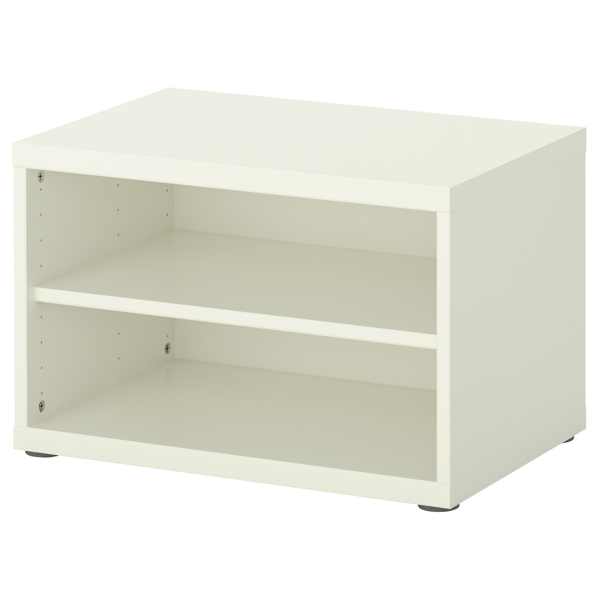 US Furniture and Home Furnishings Shelves, White wall