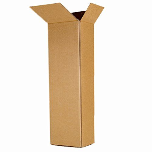 E-4237 Electric Guitar Shipping Moving Corrugated Box Carton EcoBox 18 x 6 x 45-Inch