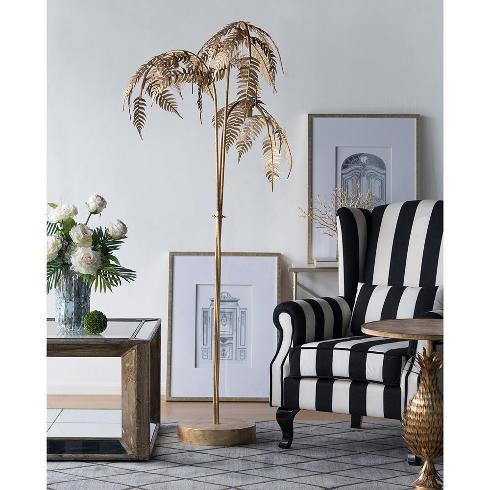 A B Home Palm Tree Shaped Lamp Tree Floor Lamp Gold Floor Lamp Beautiful Floor Lamps