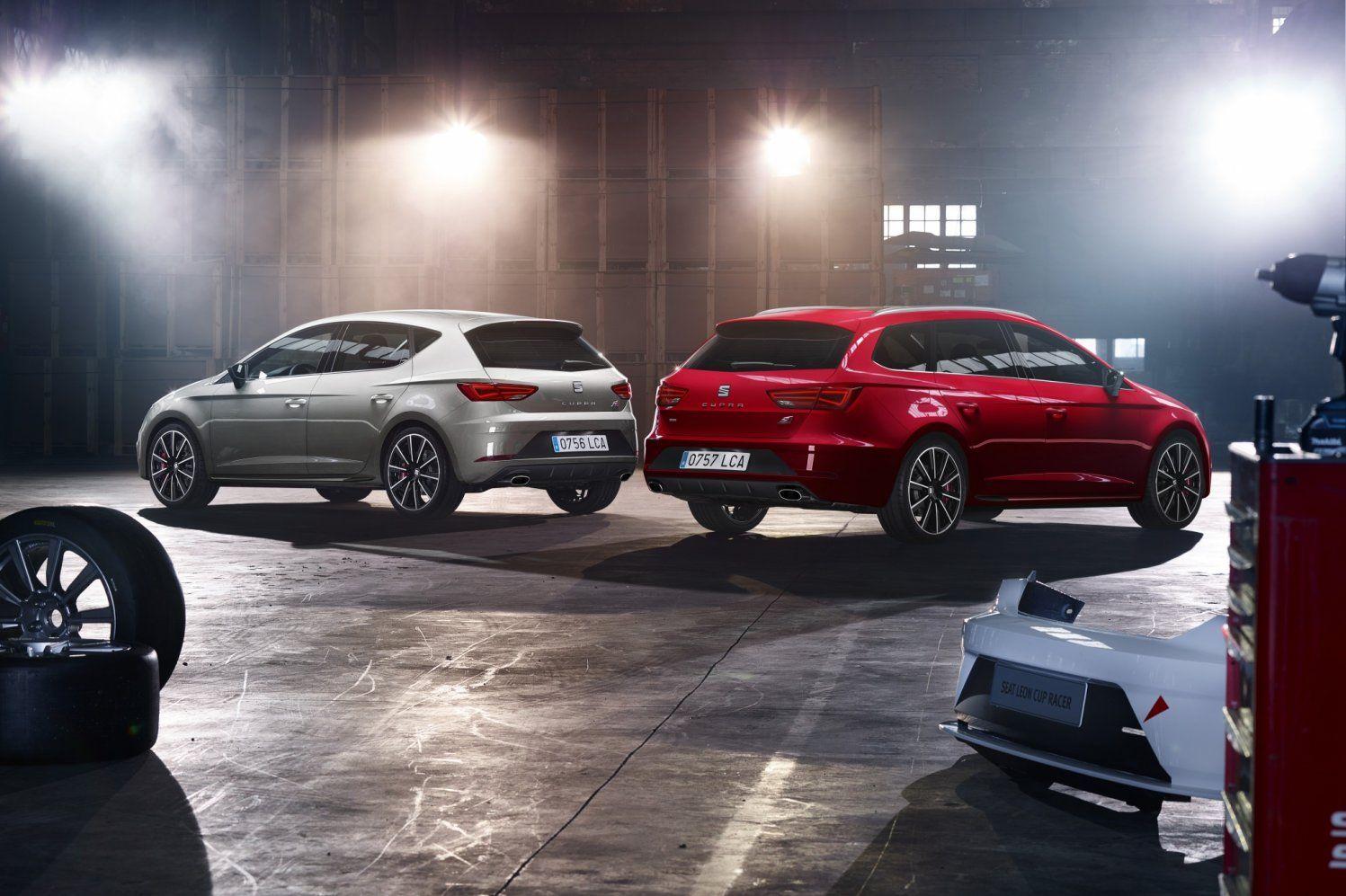 Dikste vernieuwde Seat Leon Cupra kost 51.200,- euro als familieauto