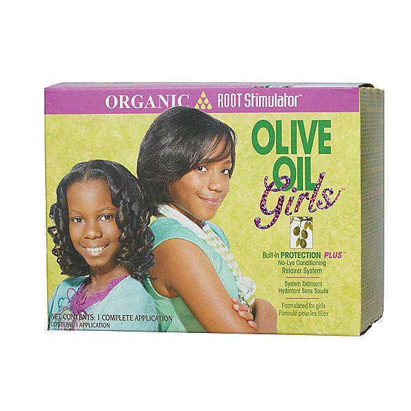 Organic Root Stimulator Olive Oil Girls No-Lye ...