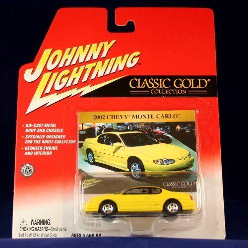 2002 Chevy Monte Carlo Yellow Johnny Lightning 2002 Classic