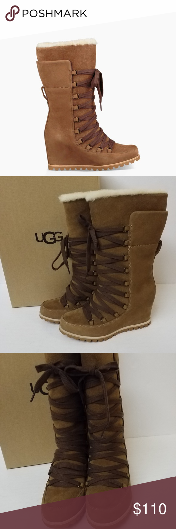 38cd36d7e6e New UGG boots Size 7.5 New in box, gorgeous UGG Chestnut 'Mason ...