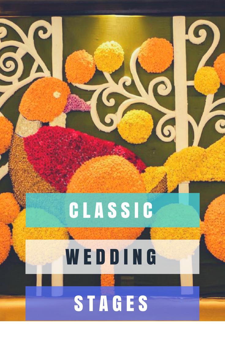 Unique wedding stage decoration ideas  Wedding stage decor ideas for your wedding  bridal  Pinterest