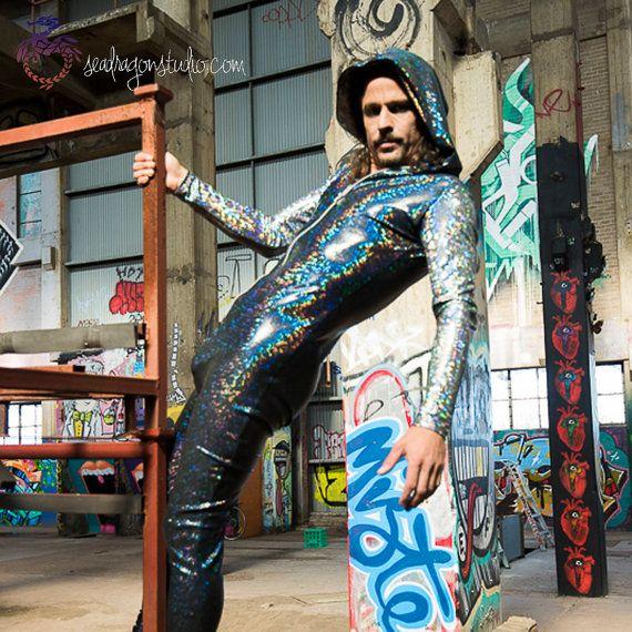 Burning Man Costume, Mens Festival Clothing, Burning Man, Men, Rave, EDM
