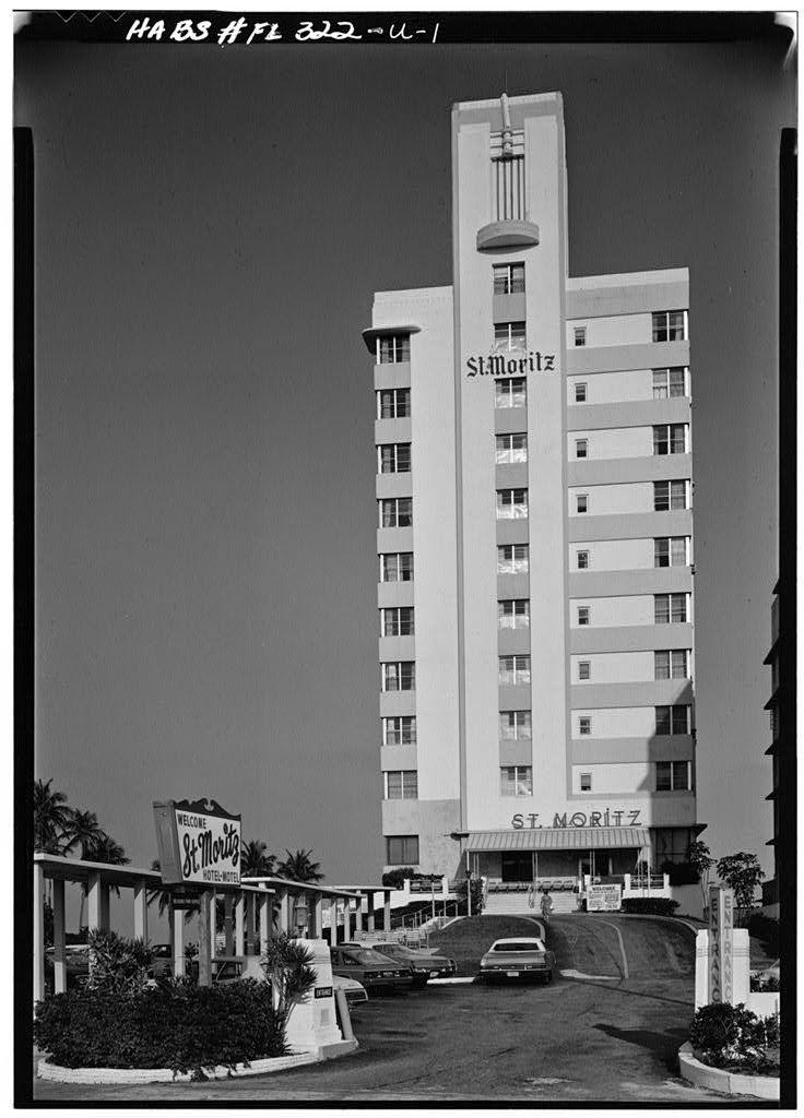 Florida Keys Character Rich Hotels Resorts: St. Moritz Hotel, 1565 Collins Ave., Miami Beach