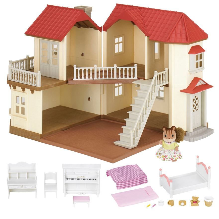 Sylvanian Families Living Room Set New In House Designerraleigh Kitchen
