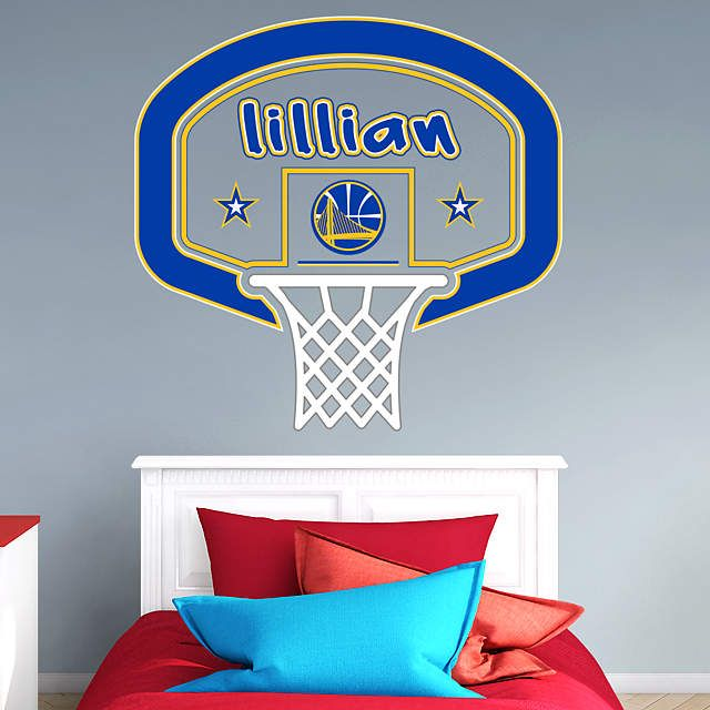 Golden State Warriors Basketball Jersey Personalised Name Wall Art Print Poster