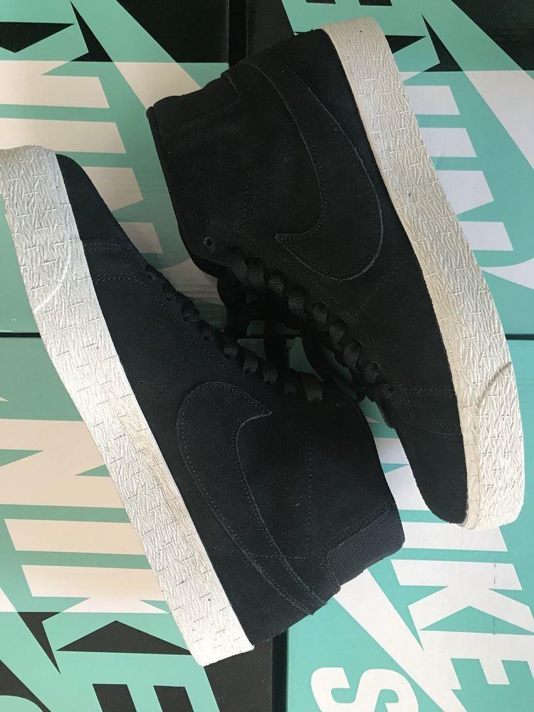 5d153a580dcb Nike SB Zoom Blazer Mid Sneakers Decon Black Pro Purple Size 10 New  fashion
