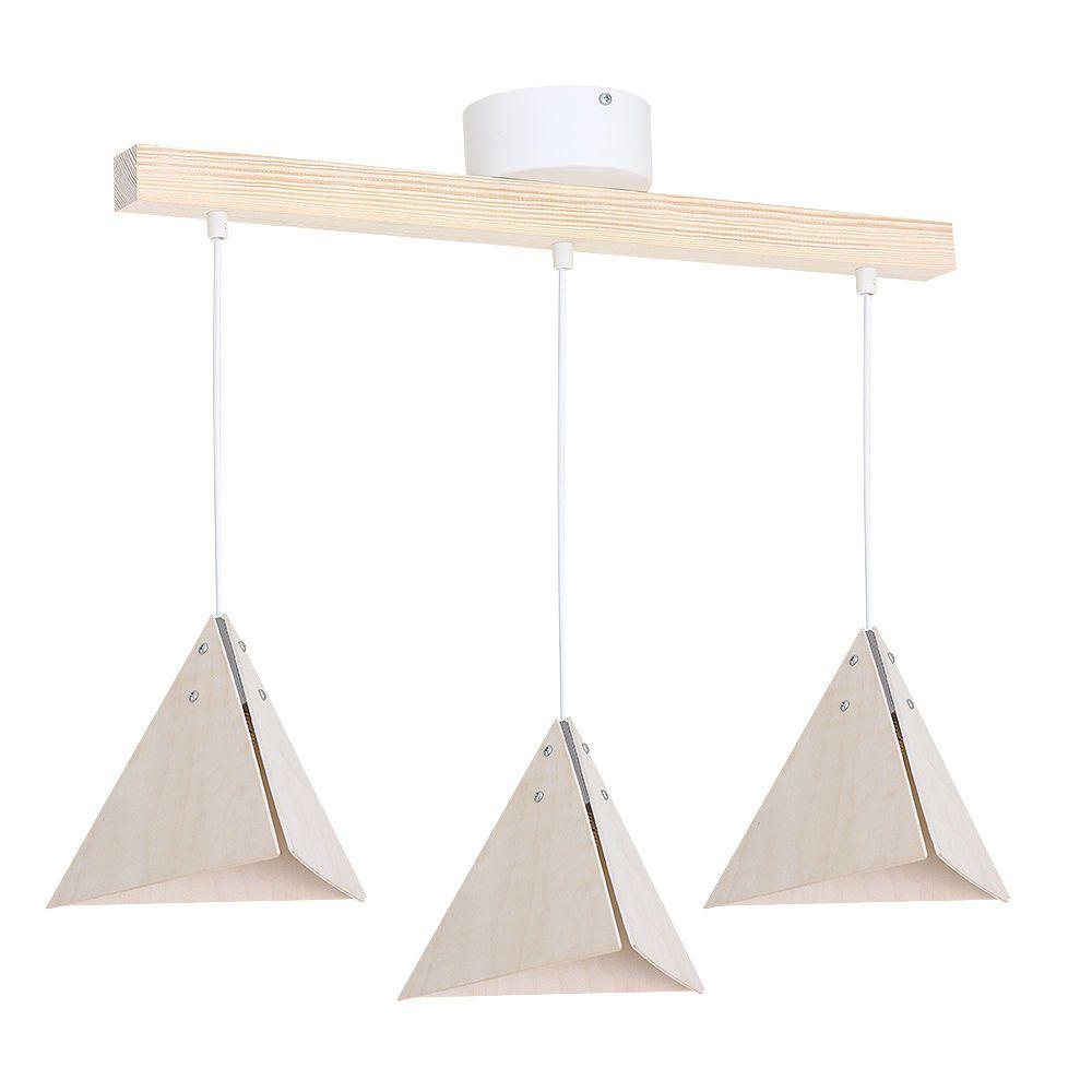 Eindrucksvolle pendelleuchte wei 3x e27 h ngelampe modern for Deckenlampe esstisch
