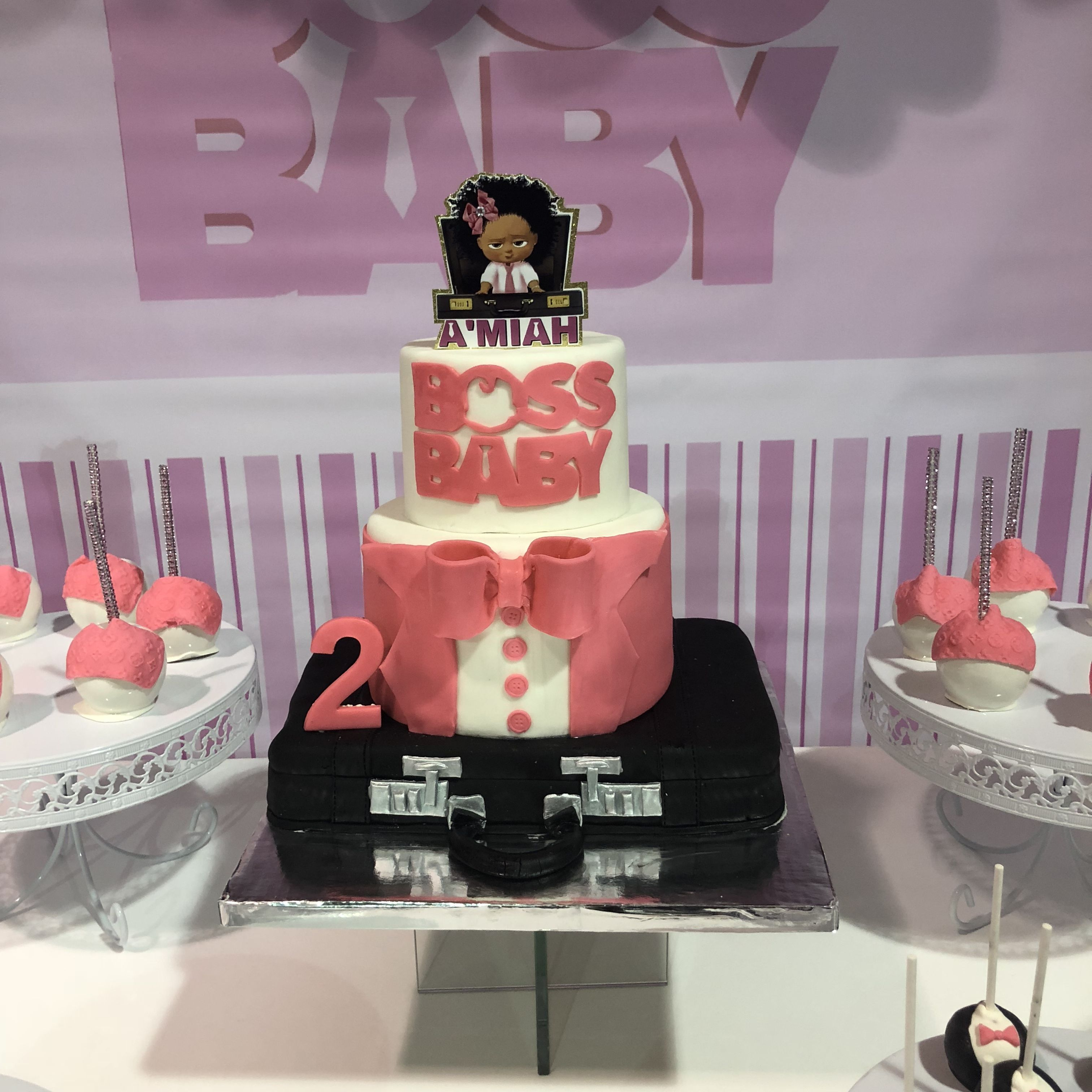 Pin By Partygalore On Boss Baby Girl Party With Images Baby