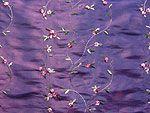 VF116-08 Irna Iridescent - Embroidered Floral Taffeta