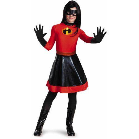 fb3513060321 The Incredibles Violet (Purple) Tween Dress Up / Halloween Costume, Girl's,  Size: XL