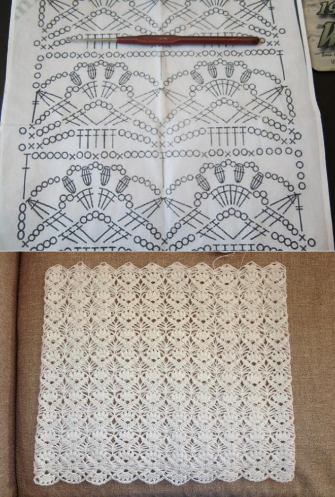 узоры крючком | Ganchillo, Puntadas y Puntos crochet