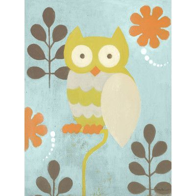 Oopsy Daisy Hootie Owl Canvas Art Size: 24\