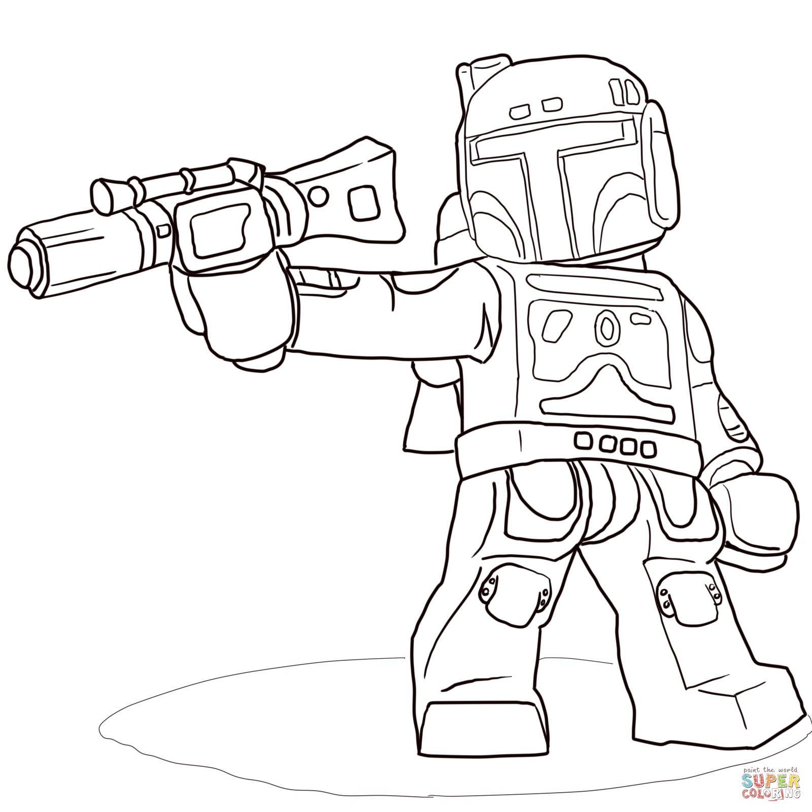 Lego Clone Trooper | Super Coloring | LineArt: Star Wars | Pinterest ...