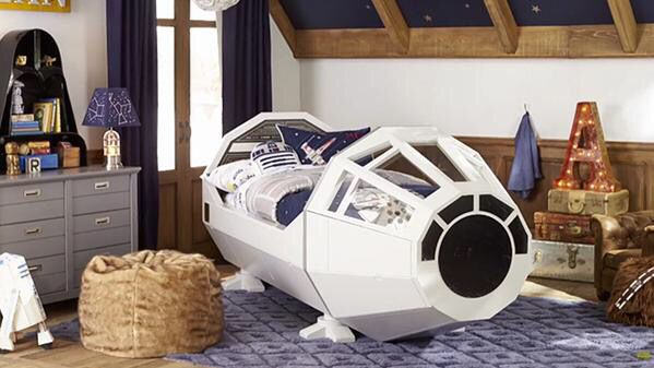 Millenium Falcon Bed How Perfect Is That Star Wars