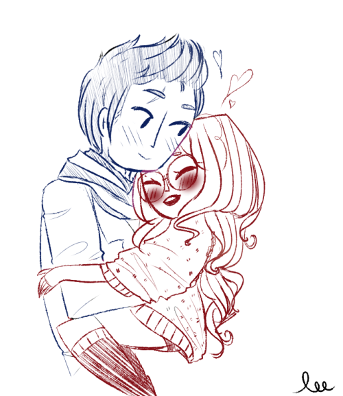 ((I didn't know this was a ship up until this point and now I ship it))