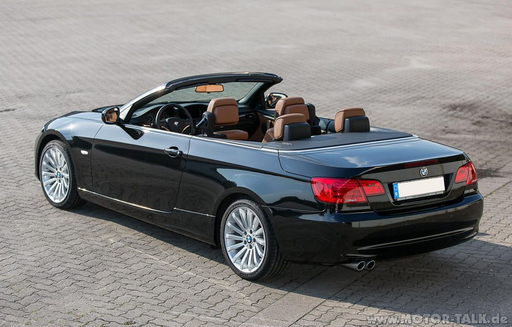 bmw e92 cabrio bmw 335i e93 cabrio lci facelift 3er bmw. Black Bedroom Furniture Sets. Home Design Ideas