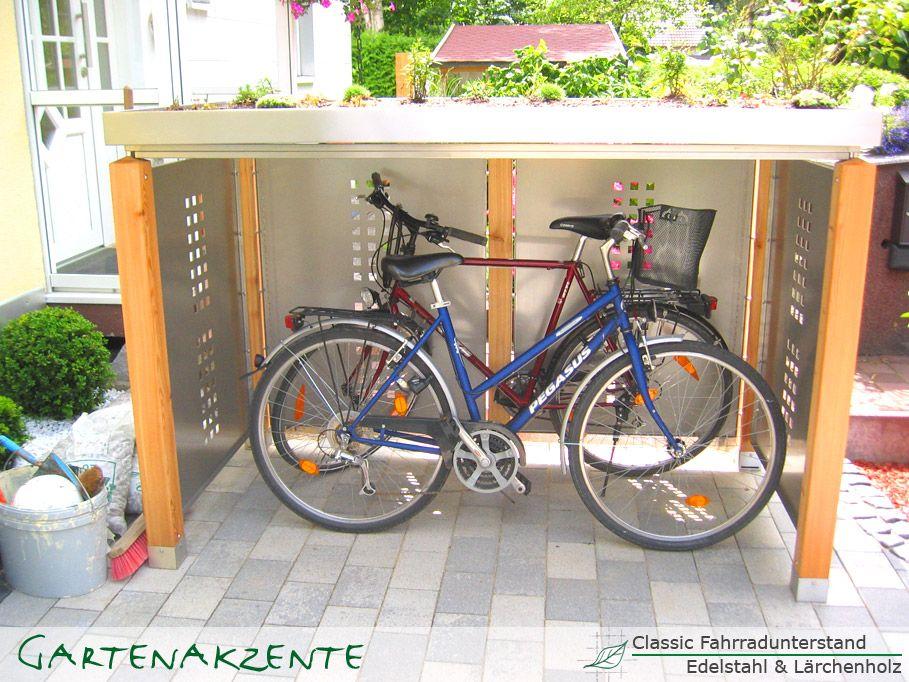 fahrradunterstand 909 682 ideen pinterest fahrradgarage fahrr der und fahrradbox. Black Bedroom Furniture Sets. Home Design Ideas