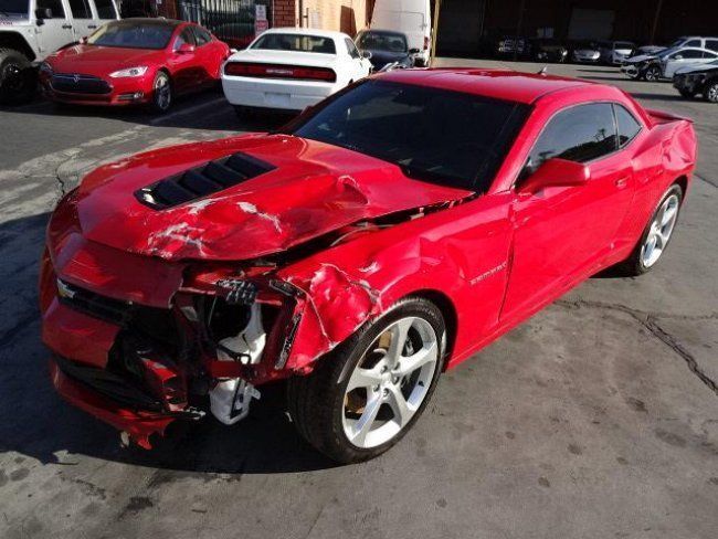 2014 Chevrolet Camaro 2SS Coupe Salvage Wrecked  Wrecked sport
