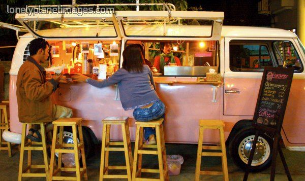 Kombi cocktail bar for Food truck bar