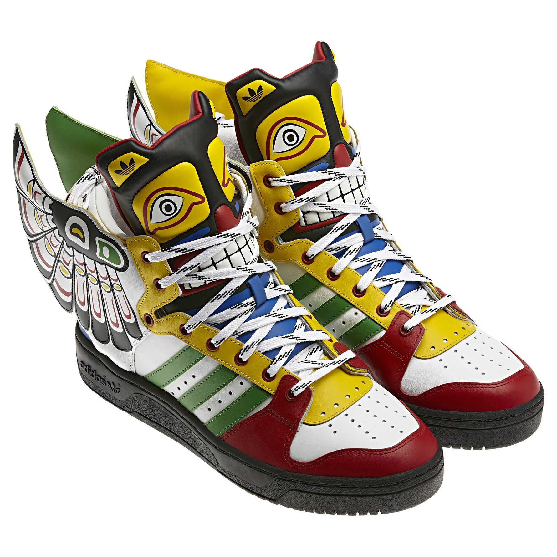 reputable site 273ee 82cd7 jeremy scott totem adidas