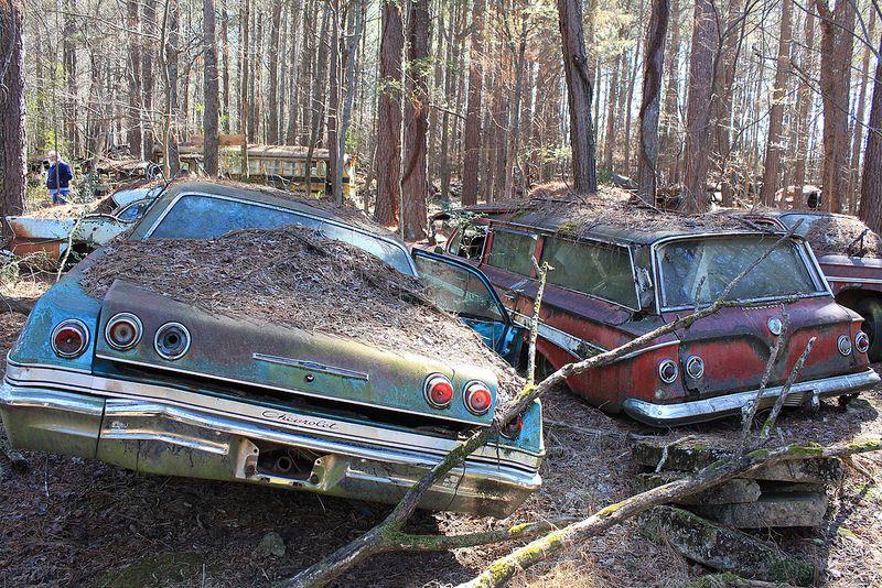 old car city bartow county Abandoned cars, City