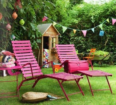 Mobilier de jardin design Fermob, chaises longues sur Uaredesign ...
