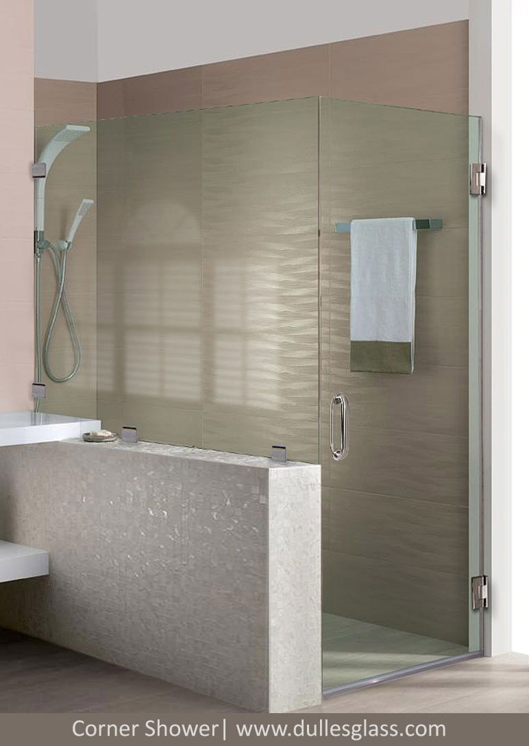 You Can Get A Frameless Corner Shower Customized For You At