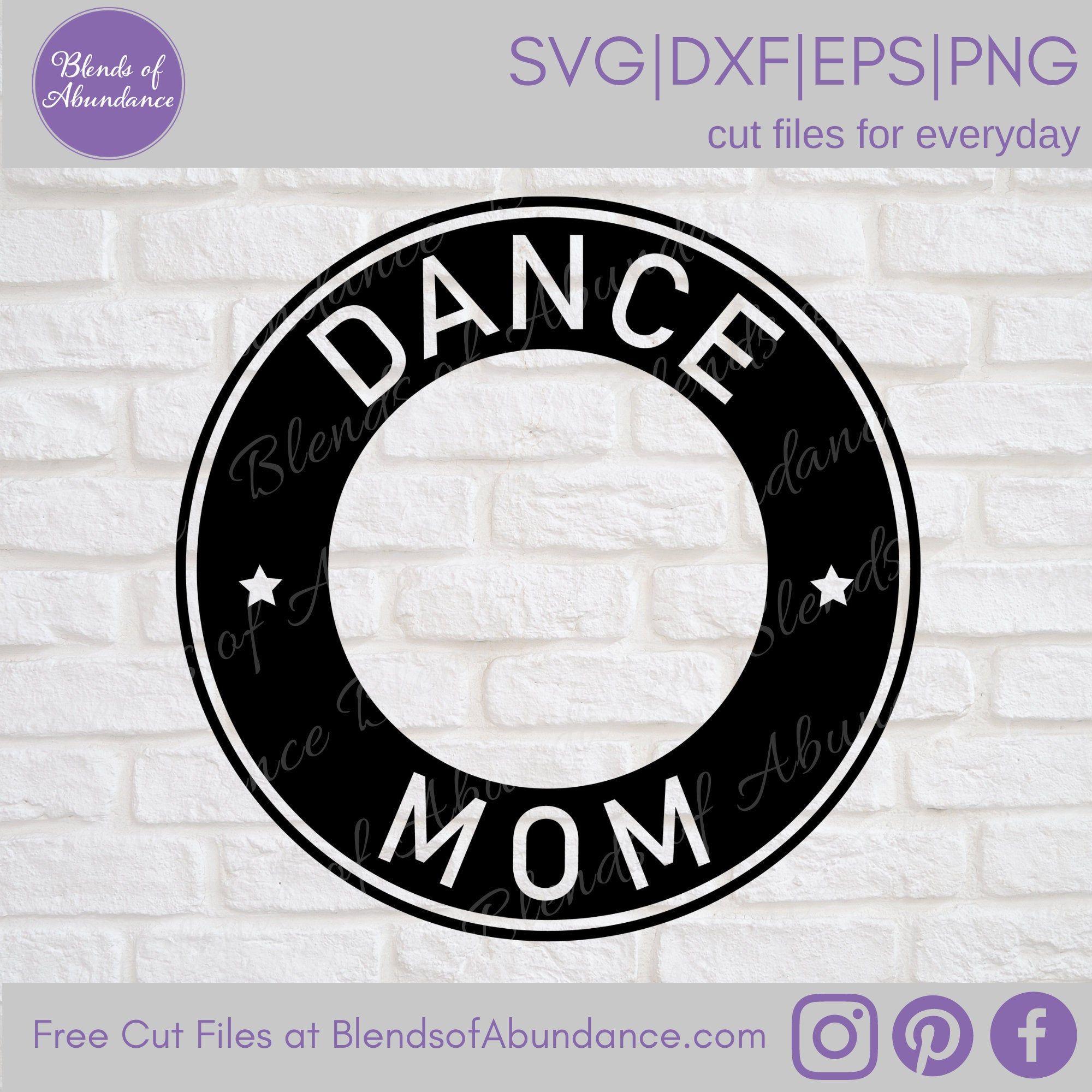 Dance Mom Label SVG Coffee Cup Label SVG Starbucks Cup